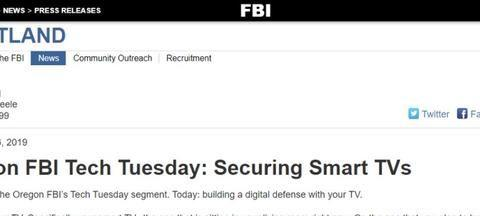 来自FBI的警告:智能电视或成黑客攻击目标