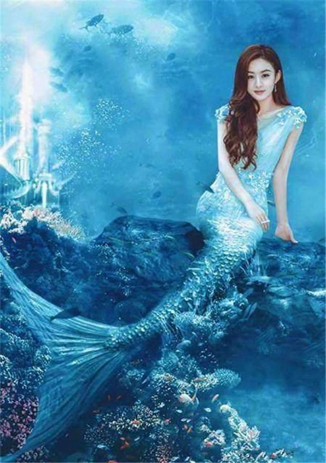 世界上最漂亮美人鱼,赵丽颖钟丽缇林允,看到筷子兄弟我笑了!