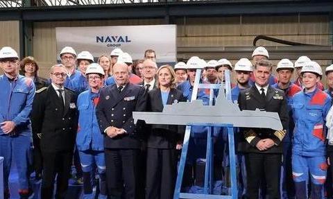 法国新一代FDI隐身护卫舰开工建造,海军水面舰艇加快换血速度