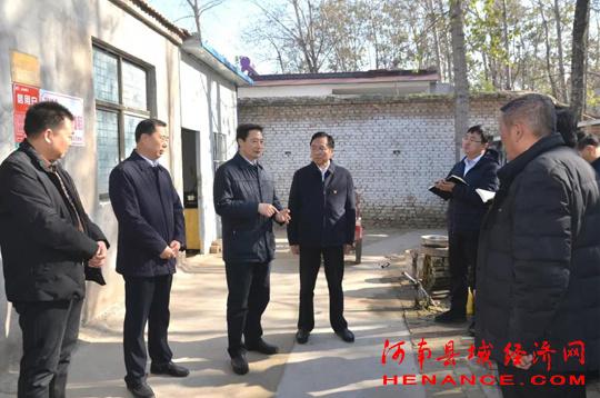 商丘市市长张建慧到宁陵县调研指导脱贫攻坚工作