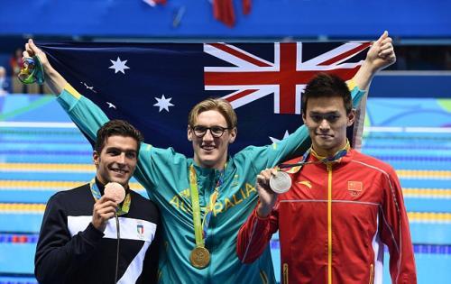 摊牌了!霍顿、斯科特入选泳坛十大影响人物,理由是诋毁孙杨有功