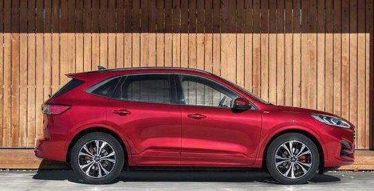 插混最低油耗1.4L/100km,全新英版福特翼虎Kuga正式上市