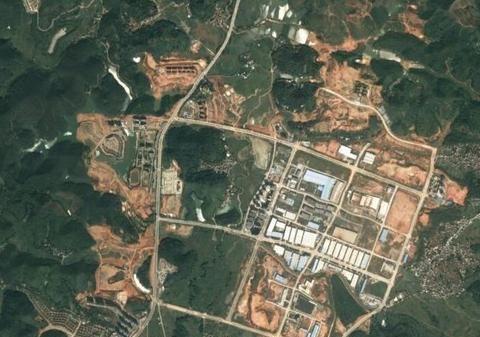 卫星上看云浮:广东GDP最低的市,市中心不沿海也没大江