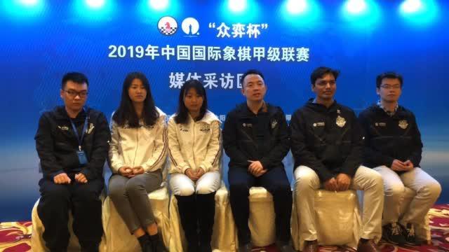 视频-国象联赛冠军上海队专访:全队努力的结果