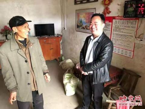 邓州市水利局帮扶日里分外忙