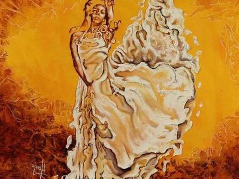 心理测试:选一张舞女的水彩画,测你在爱情里缺的是勇气还是运气