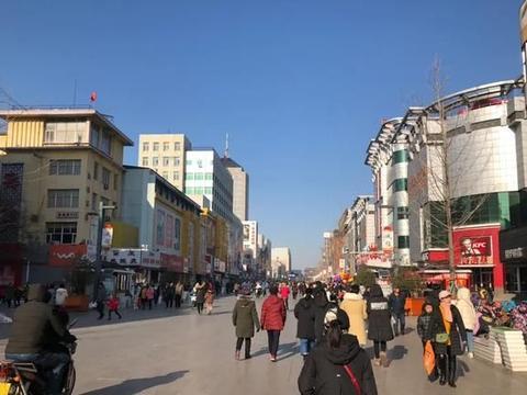 张家口古城宣化步行街休闲购物的好去处