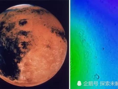 """火星突破!NASA如何在红色星球下发现""""巨大的水库"""""""