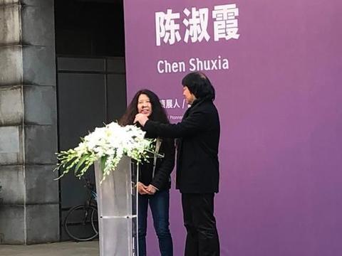 热闹现场!陈淑霞&尹秀珍双个展在美仑美术馆开幕