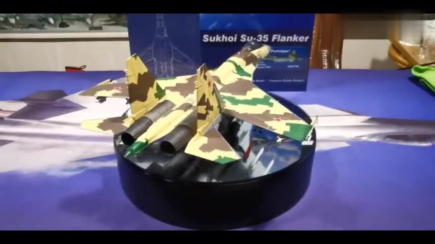 """【模型品鉴】俄罗斯苏-35战斗机""""901""""原型机"""