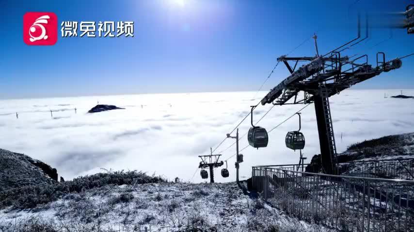 雾化成霜!上帝把云海奇观留在了贵州屋脊