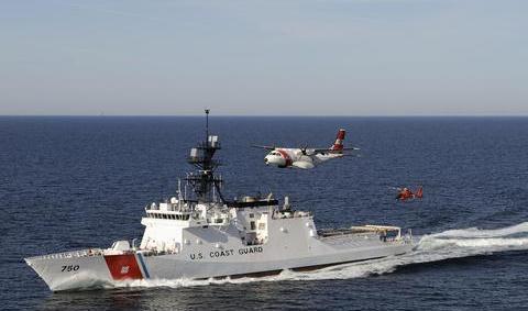 """美国海岸警卫队欲实施""""前沿兵力部署概念"""",协助美海军搅局亚太"""