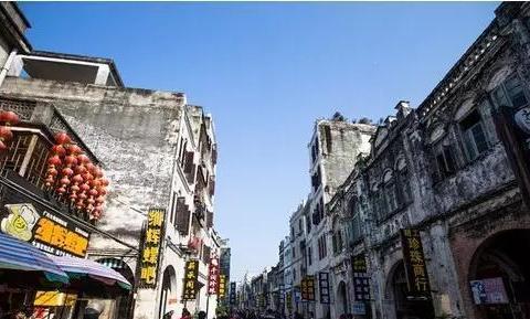 一座老城的故事,广西北海骑楼老城,中西文化的合璧