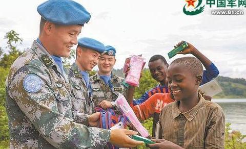 展蓝盔中国第22批赴刚果(金)维和部队执行任务