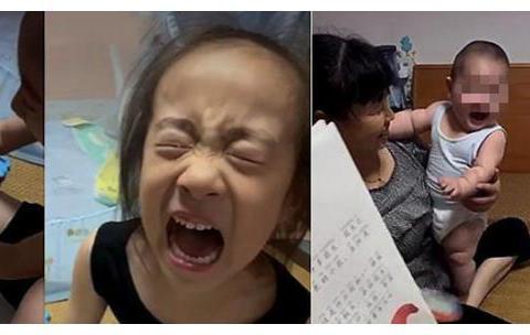"""二胎家庭面临""""新难题"""":姐姐写作业,弟弟撕课本,父母很难办"""