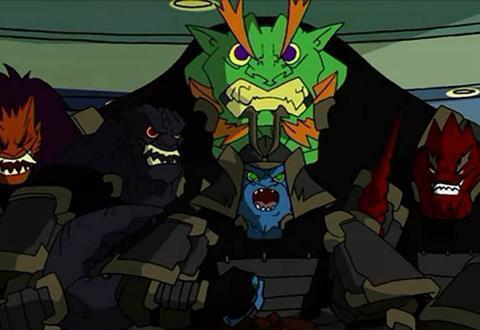 成龙历险记:恶魔三支兵团,名气不如黑影兵团,但实力却远远超过