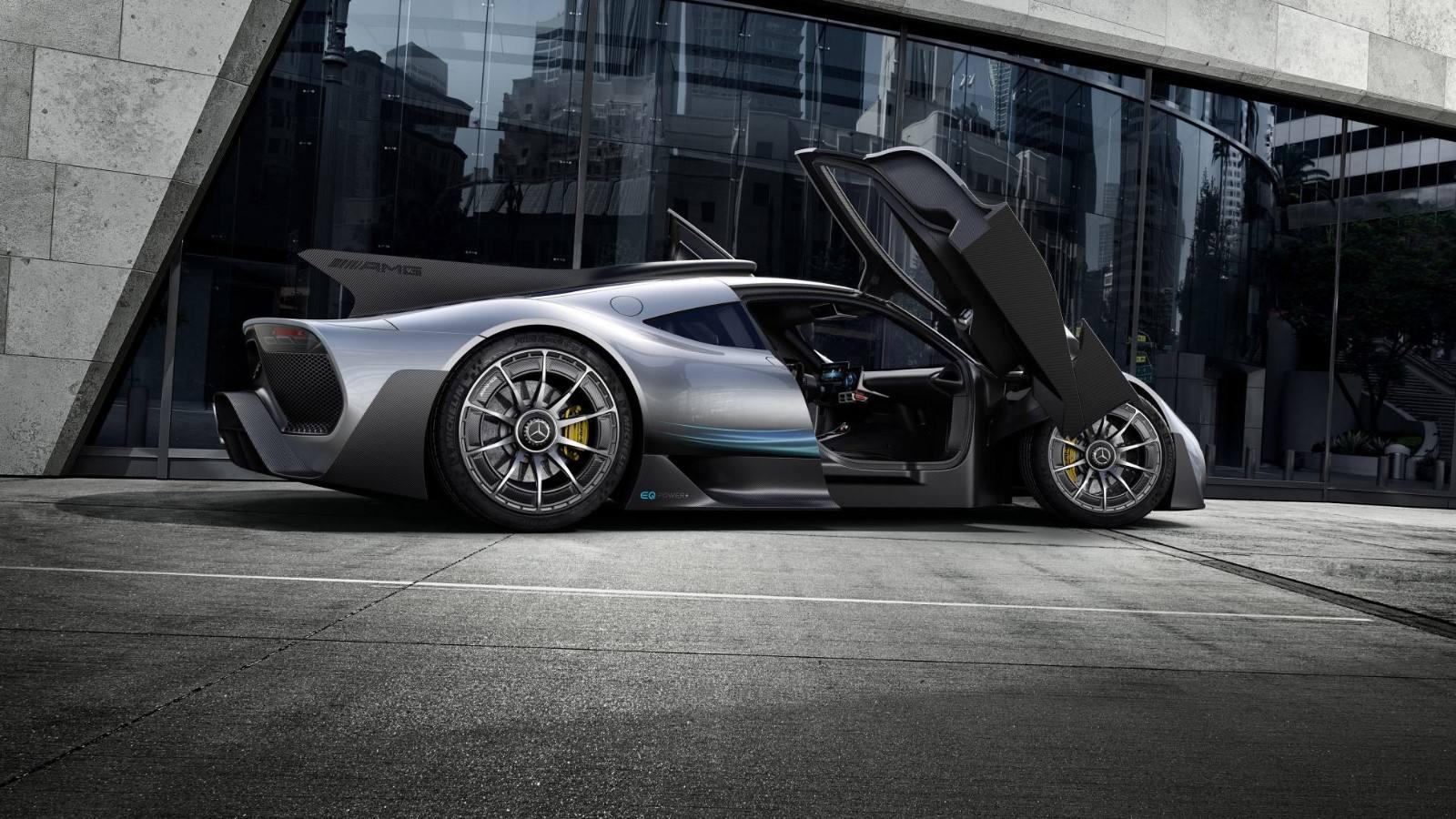 """不会再""""跳票""""?奔驰AMG ONE超级跑车,2021年上市"""