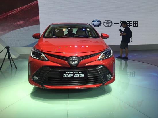 售8.88万起 威驰/威驰FS新增车型上市