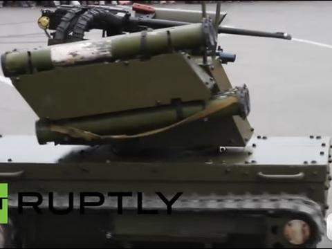 """参加过实战的战斗机器人,俄罗斯""""天王星-9"""",暴露出多种问题"""