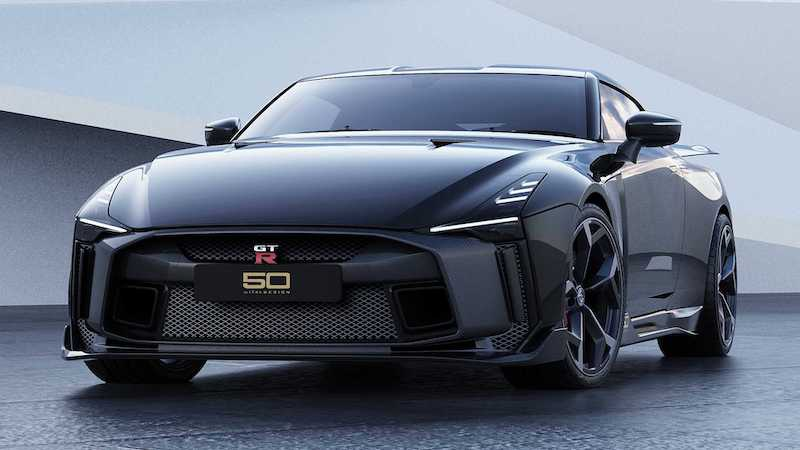 可战千万级超跑 日产GT