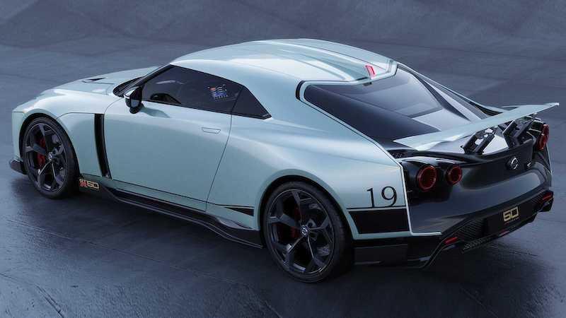 可战千万级超跑 日产GT-R50跑车曝光!