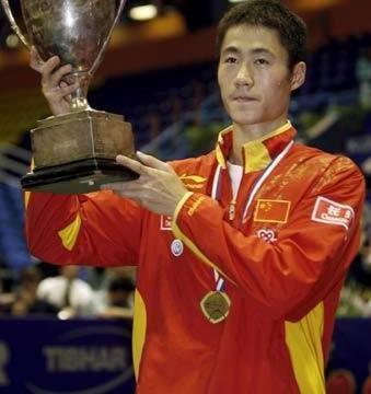乒乓往事!王励勤世乒赛3次男单夺冠,缺一枚奥运单打冠军留遗憾