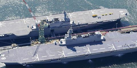 配备五代机领先辽宁号,亚洲首条弹射航母亮相?隐藏野心暴露无遗