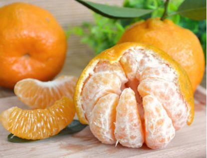 果味清香的椪柑橘,果肉饱满多汁,肉质脆嫩,好吃到停不下来