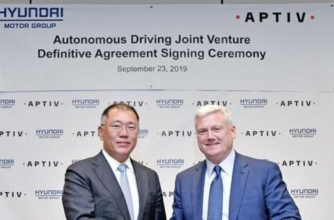 安波福牵手现代汽车,自动驾驶领域又诞生新联盟