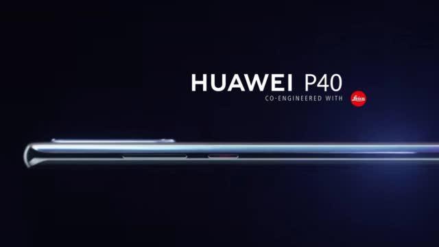 华为P40渲染图曝光,双面3D曲面玻璃,保留音量键