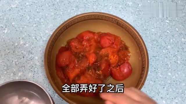 外孙爱柿子,舅奶整箱送,宝妈做西安街头小吃,金黄香甜,孩子爱