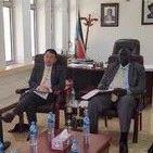 【新闻速递】驻南苏丹使馆同南外交部共同举办南营商环境座谈会