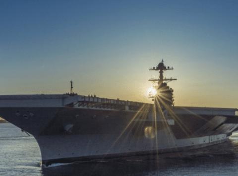 美军福特级航母趴窝,电磁弹射装置再生故障,专家称麻烦大了