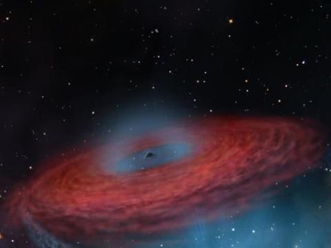 目前人类发现的最大黑洞是恒星爆炸后产生的吗
