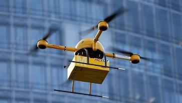 广州无人机试飞送外卖 1.6公里3分钟送达