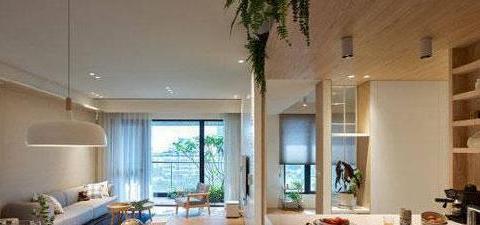 原木日式风格装修,卧室衣柜设计真少见,全屋装修简洁很舒服