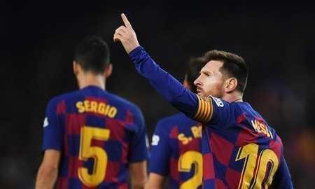10场12球,梅西已上升至欧洲金靴奖第五名