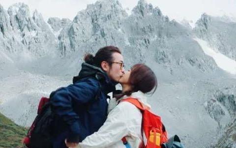 陈意涵与老公香格里拉秀恩爱,甜喊:我把一生都给了你!