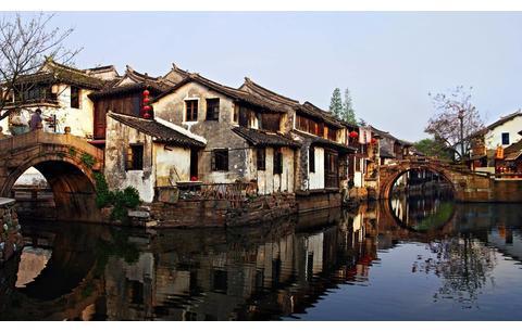 江苏人气最高的古镇,是江南六大古镇之一,是国家首批5A级景区