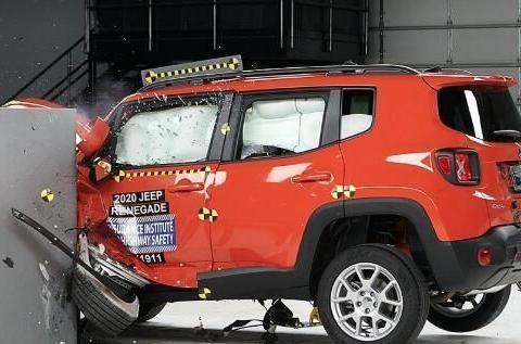 2020款Jeep自由侠获IIHS Top Safety Pick安全评级