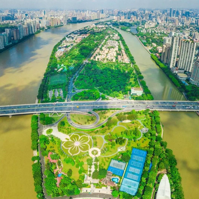 超方便~二沙岛上或将建新桥!可横跨珠江直通广州塔