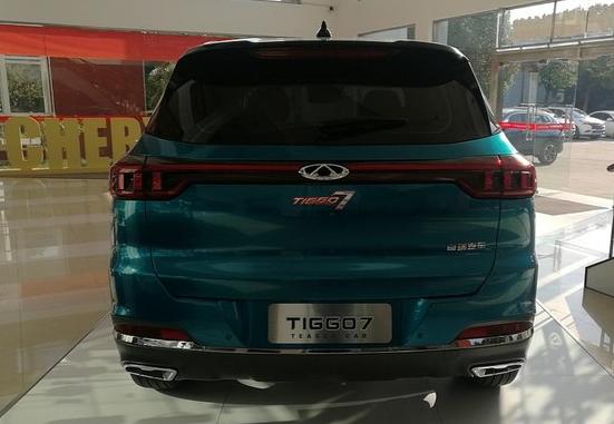 全新瑞虎7 Teaser car到店!轴距2670mm 配驻车雷达+全景影像