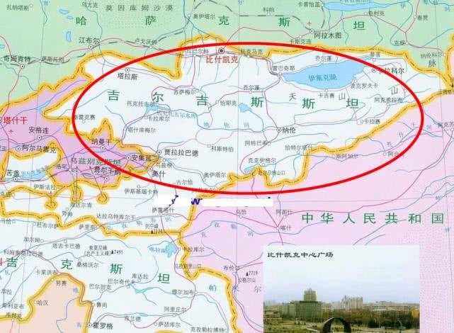 吉尔吉斯斯坦,为啥归还我国1158平方公里土地?强大最重要!