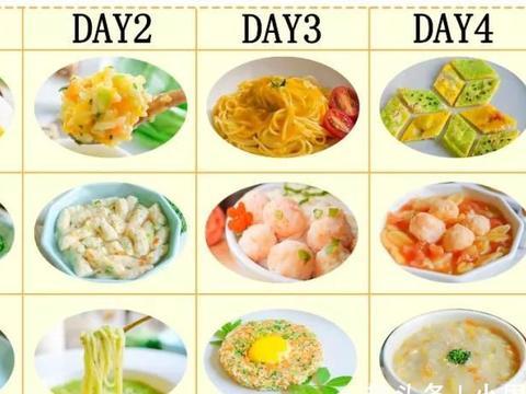 每日餐单|这种食材营养比猪肉高?十几分钟就能做一碗!宝宝辅食