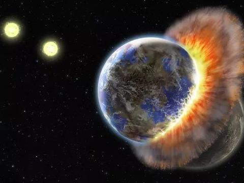 如果反物质地球和地球相撞,会发生什么?太阳都能炸飞4次