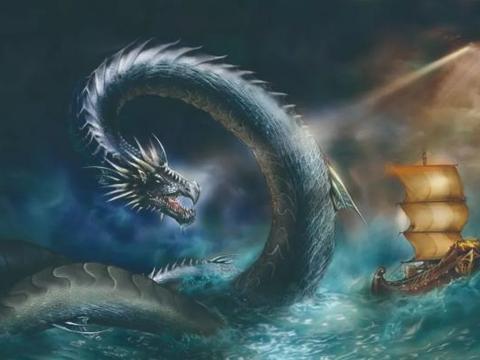 考古学家找到龙的原型,它们或是地球上的一种水生爬行动物