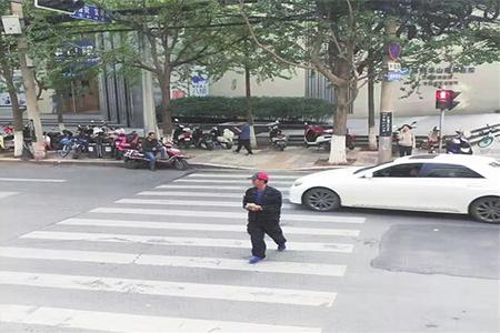 高清抓拍行人交通违法,闯红灯将被纳入征信