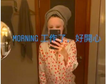 张柏芝早上被儿子吵醒不生气,谢振南依赖母亲,妈妈出门也视频