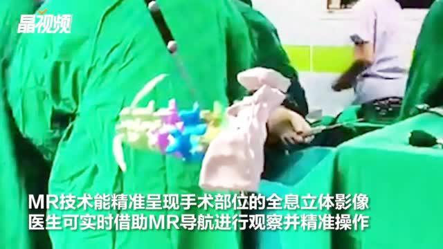 """医生有了""""透视眼""""会有多厉害?全球首例MR导航脊柱手术在深完成"""