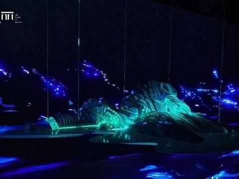 嘉德艺术中心「瑰丽·犹在境」看人文科技、数字艺术幻化东方意